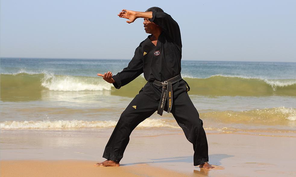 Usmg taekwondo 2017 michel aholou